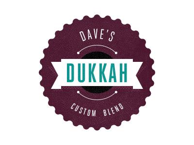 Fun Dukkah Jar Label label typography type