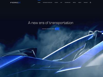Ferox Advanced Vehicles Website