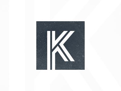 K logo brand shape k