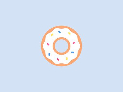 Uber Fam #3 uber sketch series minimal illustration flat pastry donut