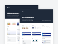 DIG Component Libraries minimal dropbox desktop icons colors guidelines documentation design system components figma