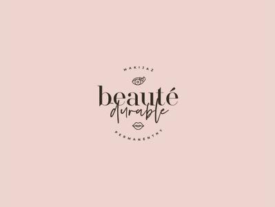 Beauty Durable mark brand branding logo eyes women face clinic beauty spa artist makeup