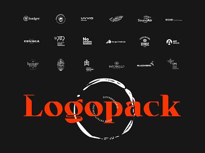 Logopack 2020 typography mark logopackage logosai logotype logo collection logopack logodesign logos logo