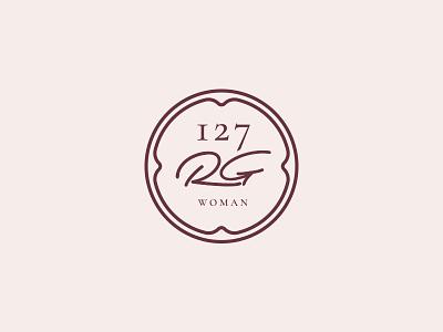 127RG | Alternative version mark underwear typography logo clothes women brand fashion