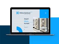Klima Centrum Website