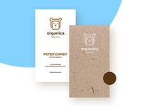 Organica | Business card