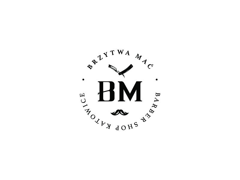 Brzytwa Mać | Mark razor branding logo barber
