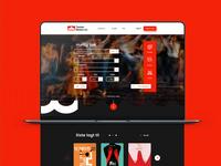 Website Teater Basen