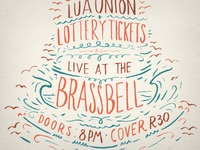 Lua Union & Lottery Tickets Poster