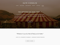 Kate Conklin Blog