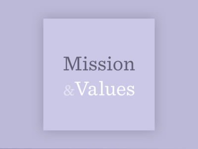 Mission & Values Podcast Cover cover podcast entrepreneur values vision mission culture company startups