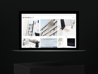 Minimal Stock Photos Website