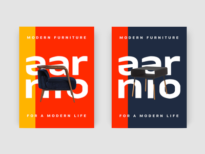 Aarnio Brand Identity Posters