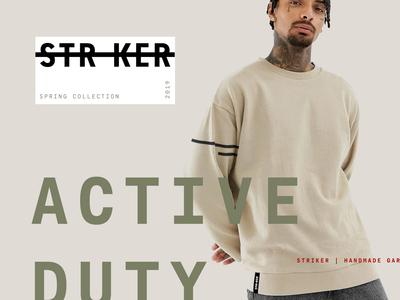 Striker Branding Visuals