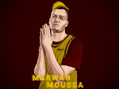 ' Marwan Moussa ' digitalart vector draw drawing art design illustration