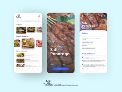 Cooking Recipes UI App