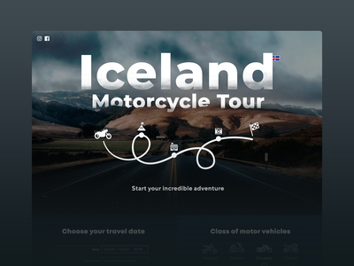 Iceland Motorcycle Tour Website