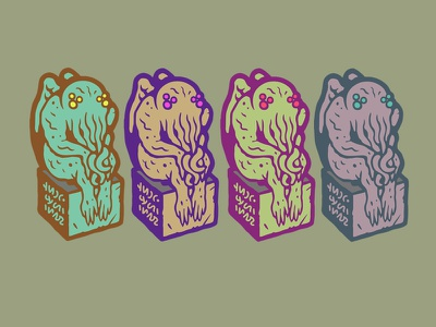Cthulhus hp lovecraft design pin game enamel pin halloween horror lovecraft cthulhu