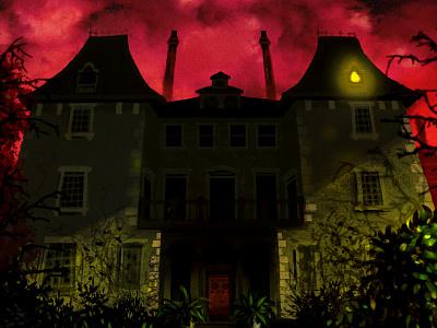 Halloween House horror spooky haunted house halloween
