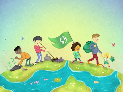 Tidy & Recycle! savetheplanet education tidying children family environmentalism eco-friendly earth green