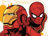 Iron Man & Spidey