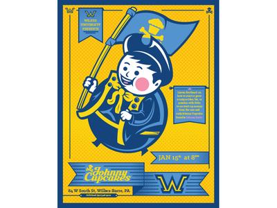 Johnny Cupcakes / Wilkes University