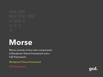 Morse Promo code branding morse code