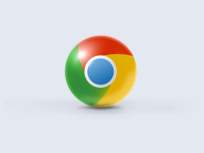 Chrome ball google chrome