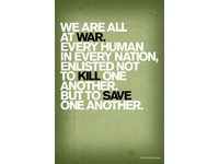 WE ARE ALL AT WAR