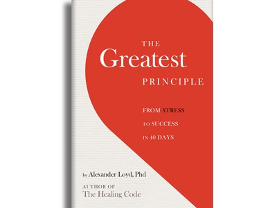 The Greatest Principle Book Cover Designs publication design book cover design graphic design typography publishing editorial design