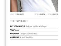 New TypographyShop site design