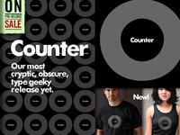 Counter Typographic Anatomy T Shirt2