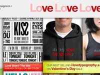 Valentine's Day mailing