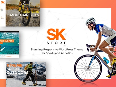 SK store, eCommerce website