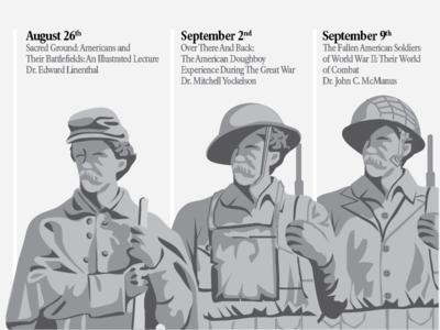 Antietam Cemetery Anniversary Illustration