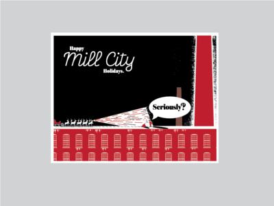 Mill City Holiday Card