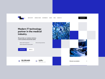 WITTE modular design poland visiontrust agency corporatewebsite landingpage onepage web website webdesigner webdesign ux ui mobileapp desktopapp app doctor healtcare medical