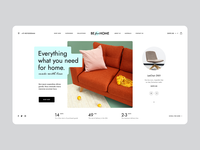 BEforHOME agency poland architecture ecommerce wordpress homedesign design furniture home intro hero onepage landingpage ux ui webdesigner webdesign website web