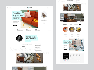 BEforHOME theme design woocommerce wordpress poland agency ux ui home furniture onlineshop shop ecommerce onepage landingpage webdesigner webdesign website web