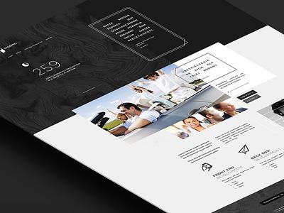 PagePro visiontrust webdesign minimalist