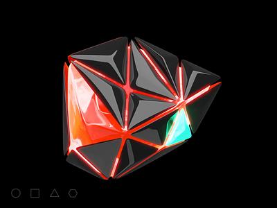 Key Visual - Geometry shapes brandbook logodesign shapes geometry 3danimation poland design ux ui website illustration keyvisual branding logo motion graphics animation 3d
