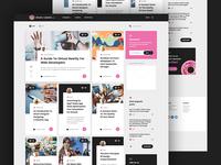 🍩 DonutAndPixels - home page