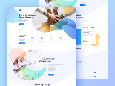 📈 Analytics creativee poland visiontrust agency theme blog wordpress ux ui concept website web