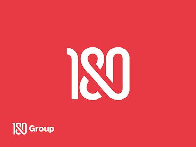 180Group poland katowice agency letter poker design ci id identity logotype logo