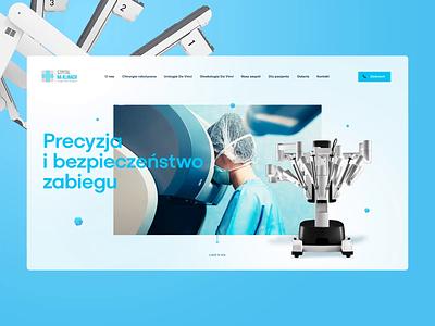 Neo Robotics 👩🔬👨⚕️ illustration branding app katowice visiontrust agency poland webanimation animation ux ui design wordpress robot healthy herosection landingpage webdesign website onepage