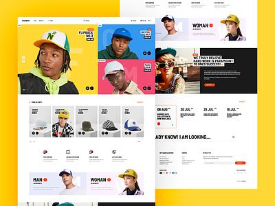 HRDWRK 🤟 webdesigner minimalist web design ui ux app theme wordpress landingpage onepage webdesign website mockup hero welcome ecommerce cap fullcap shop