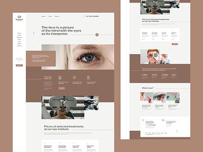 BeOculist 👁 logo mockup app wordpress theme minimalism branding onepage landingpage ux ui webdesigner webdesign website web