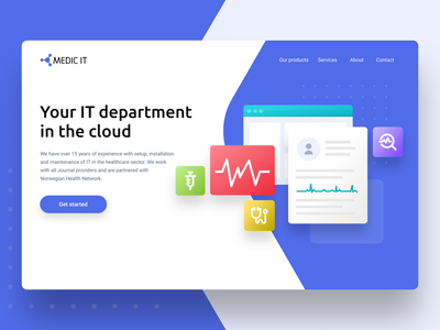Medicine CRM system - Web design design clean ui norway colors modern health pharmacy dentist doctor covid medicine dental