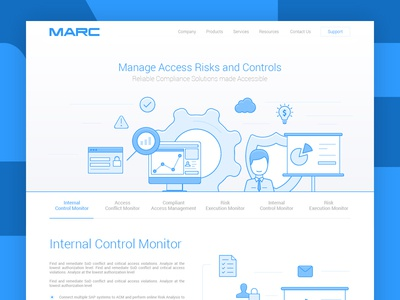 Main page for MARC website