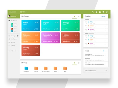Dashboard for Study System